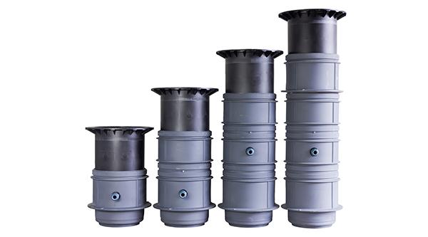 pumptek pt7 är tillgängling i flera höjdutförande och har teleskopiskt lock