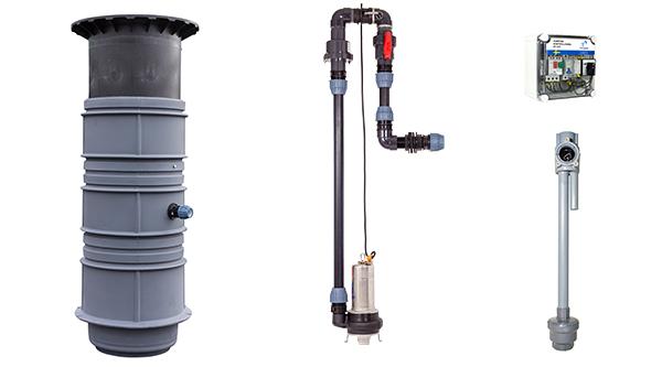 pumptek invändigt rörsystem